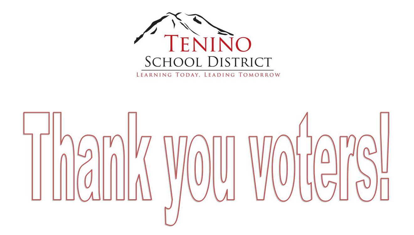 Programs and Operations Levy Thank you Voters!