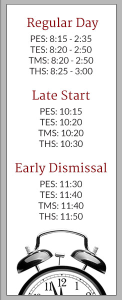 Schedule Times