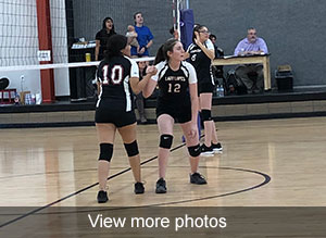 View photos of JV volleyball game