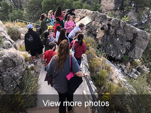 view more photo of the Walnut Canyon field trip
