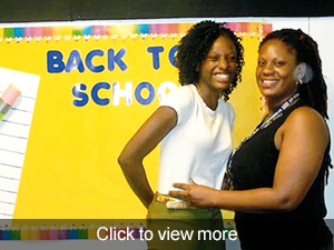 view more photos from our back to school night