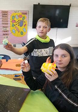 6th grade eggs