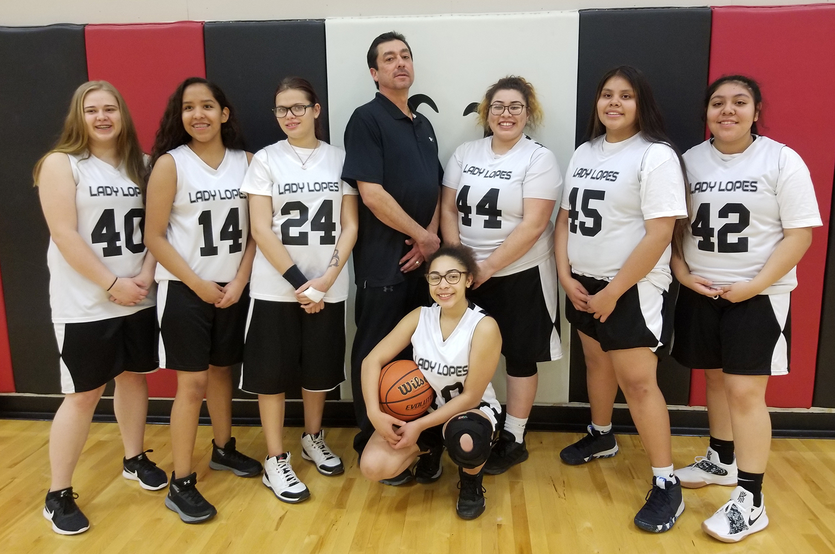 High School Girls Basketball Team