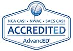 AdvancED Accredited logo