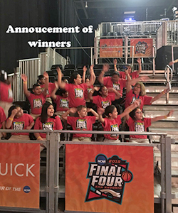 Announcements of winners