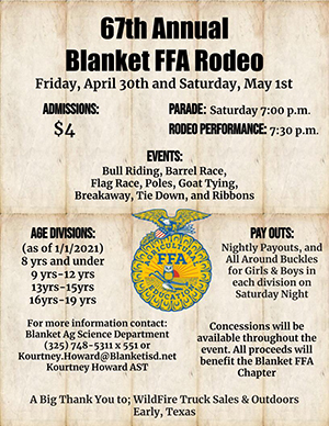 FFA Rodeo Flyer