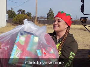 View more photos about the Stocking Stuffers Program
