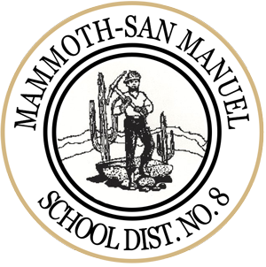 Mammoth-San Manuel School District No. 8 logo