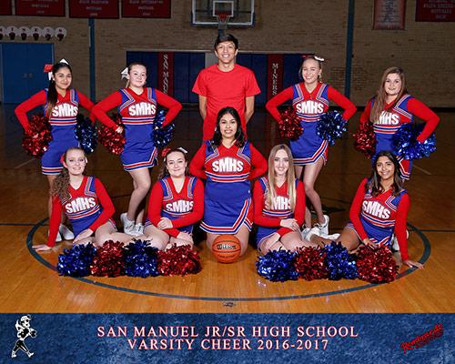 High School Cheer Team