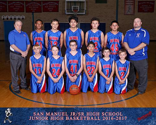 Junior High Basketball Team