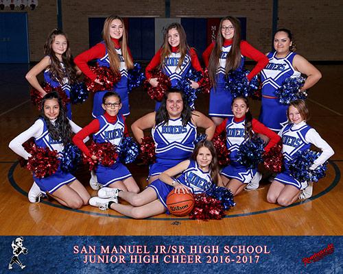 Junior High Cheer Team