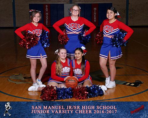 Junior Varsity Cheer Team