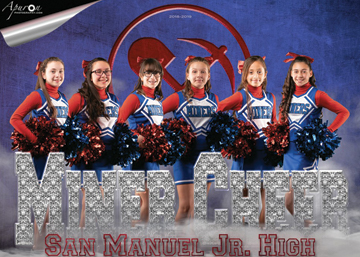 San Manuel Jr/Sr High School 6th Grade Cheer 2018-2019