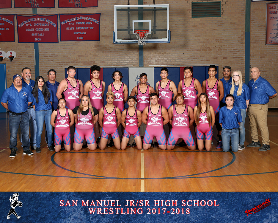 San Manuel Jr/Sr High School Wrestling 2017-2018