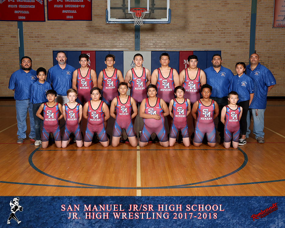 San Manuel Jr/Sr Junior High School Wrestling 2017-2018