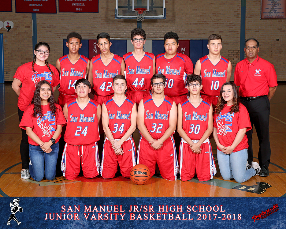 San Manuel Jr/Sr High School JV Boys Basketball 2017-2018