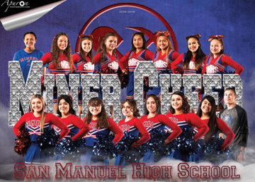 San Manuel Jr/Sr High School Varsity Cheer 2018-2019