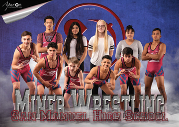 San Manuel Jr/Sr High School Wrestling 2018-2019