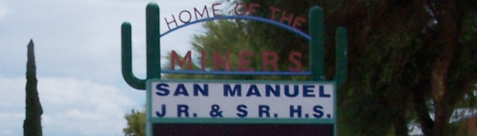 San Manuel Junior/Senior High School Home