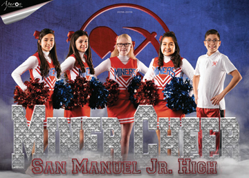 San Manuel Jr/Sr High School Junior Varsity Cheer 2018-2019