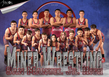 San Manuel Jr/Sr Junior High School Wrestling 2018-2019