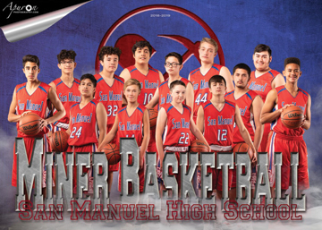 San Manuel Jr/Sr High School JV Boys Basketball 2018-2019