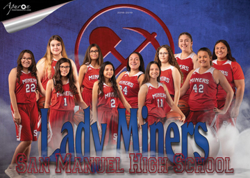 San Manuel Jr/Sr High School JV Girls Basketball 2018-2019