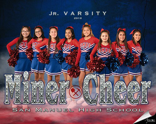 Fall Junior High Cheer Team
