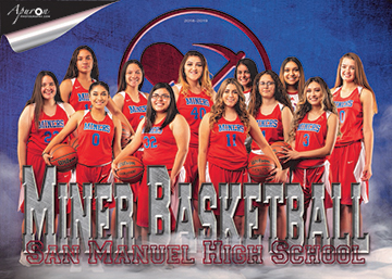 San Manuel Jr/Sr High School Varsity Girls Basketball 2018-2019