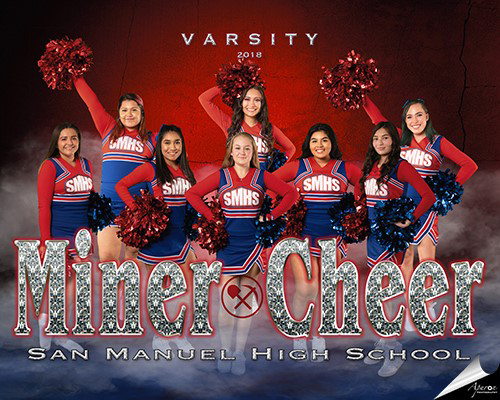 Fall Varsity Cheer Team