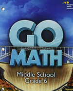 Website for Go Math - Grade 6