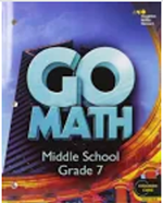 Website for Go Math - Grade 7