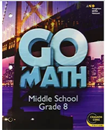 Website for Go Math - Grade 8