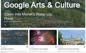 Google Arts & Culture resources