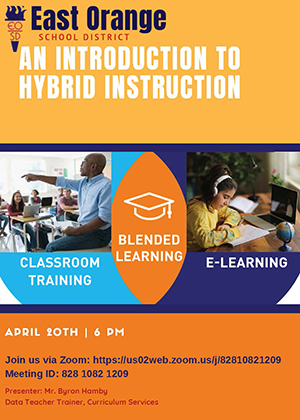 Introduction to Hybrid Instruction flyer