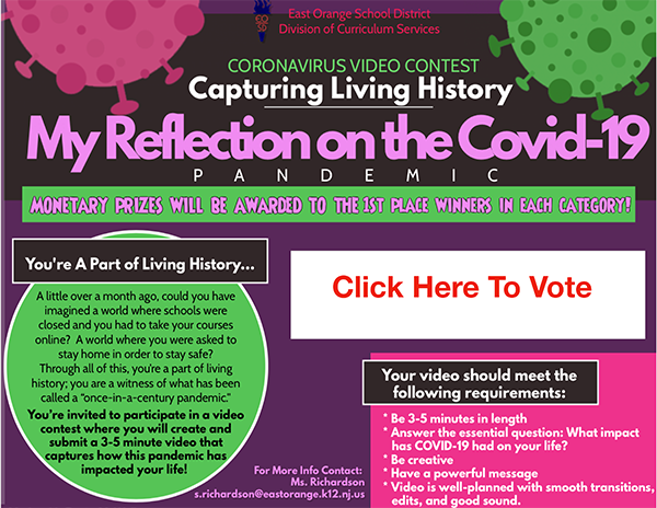 Coronavirus Video Contest