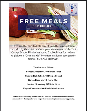 Click here to view the Free Meals for Children flyer.