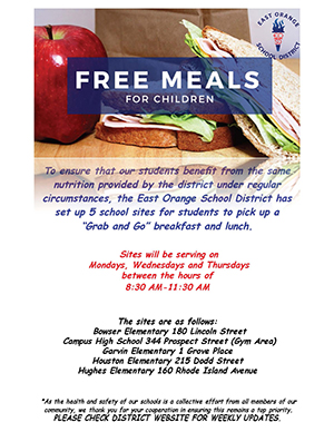View the Free Meals for Children flyer.