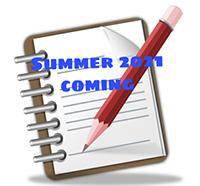 Summer 2021 coming soon
