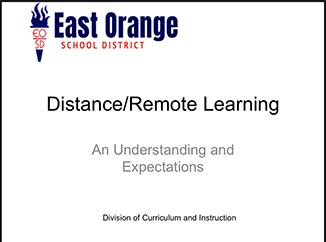 Distance/Remote Learning Information