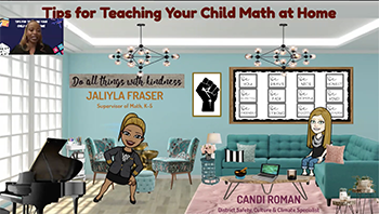 Tips for teaching your child math at home