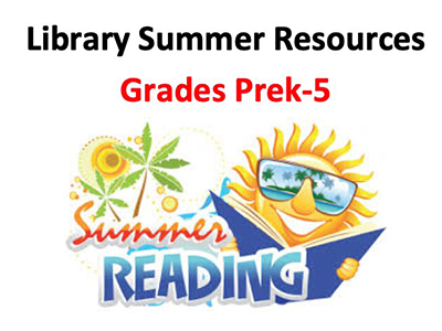 Summer Library Resources