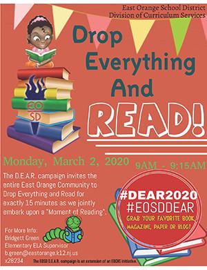 DEAR campaign flyer