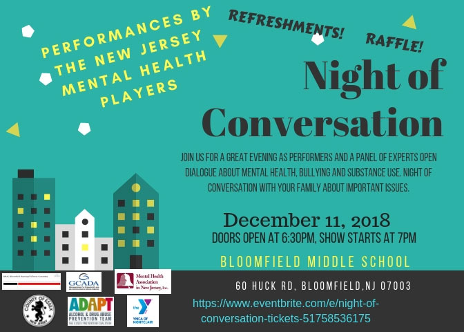 Night of conversation flyer