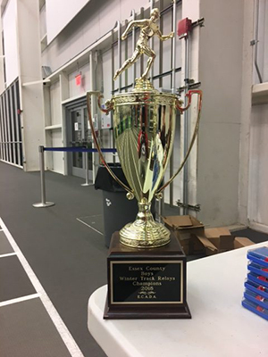 Essex County Boys Winter Track Relays Champions 2018