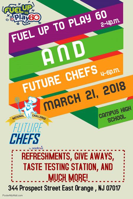 Fuel Up To Play 60 Flyer - Address: 344 Prospect Street, East Orange, NJ 07017