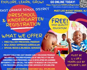 Preschool and Kindergarten Registration Flyer