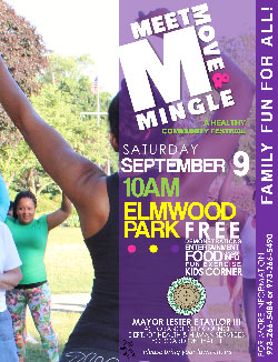 Meet, move, and mingle flyer