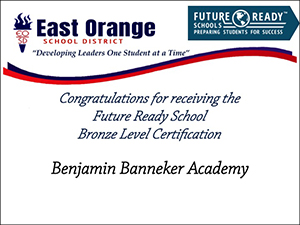 Benjamin Banneker Academy bronze level certification