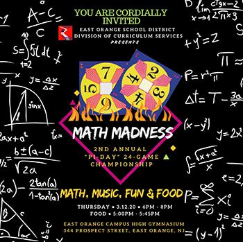 Math Madness flyer